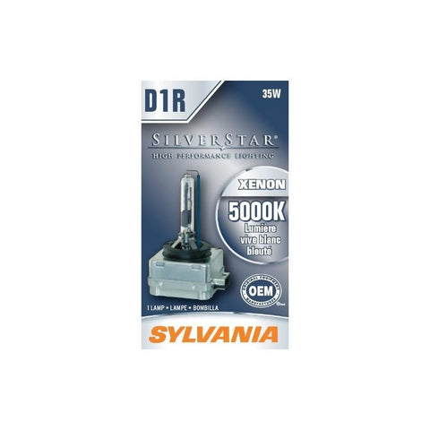 SYLVANIA D1R SilverStar High Intensity Discharge (HID) Bulb, (Pack of 1)