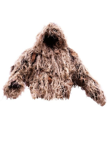 Ultra Light Ghillie Jacket Desert Medium/Large - BushRag - Dropship Direct Wholesale
