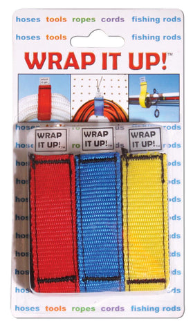 Wrap It Up! 3 / Blister 1 Red 1 Yellow 1 Blue - Jet Logic - Dropship Direct Wholesale