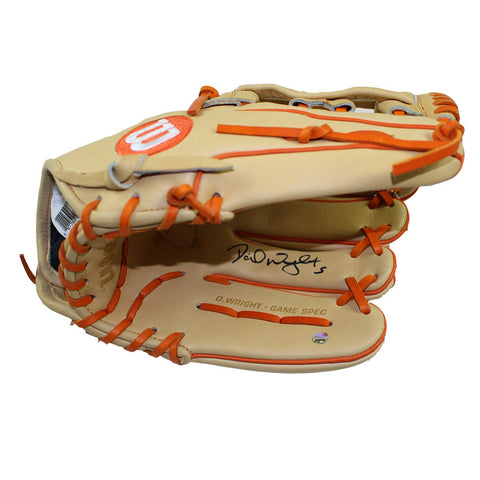 David Wright Signed Wilson Game Model WTA2K Glove