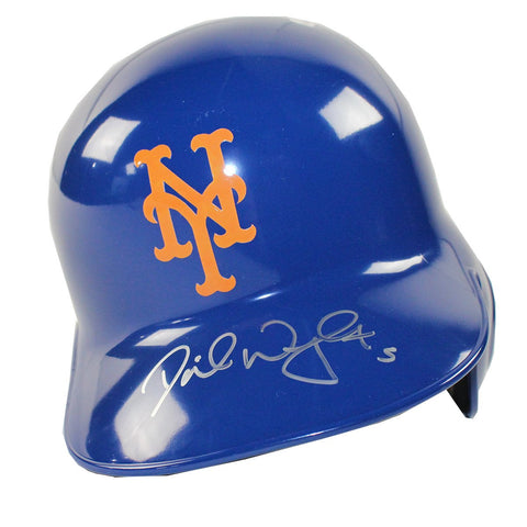 David Wright Signed NY Mets Blue Left Ear Flap Batting Helmet MLBRL