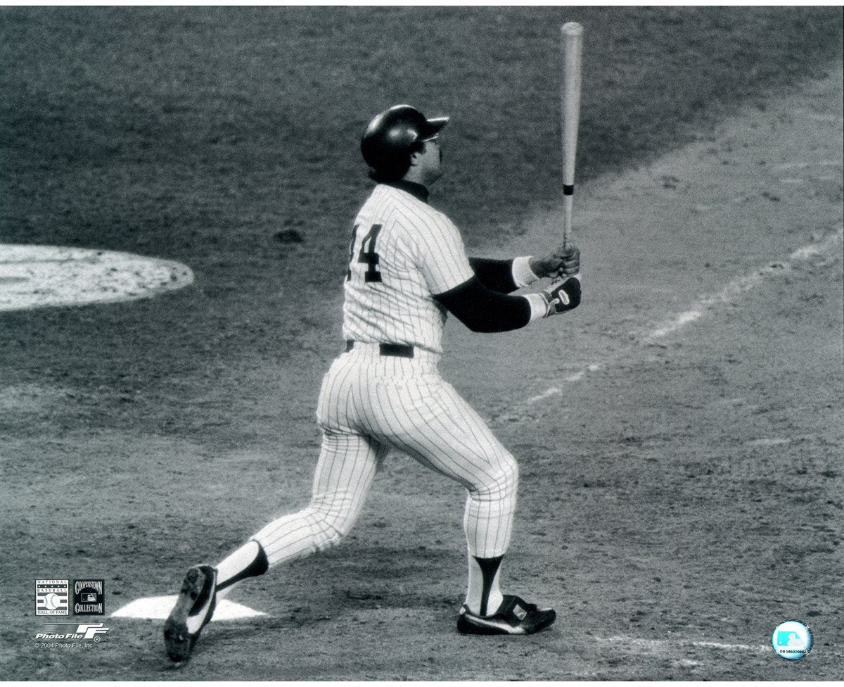 Reggie Jackson Horizontal Home Run Vs Dodgers 78 WS 16x20