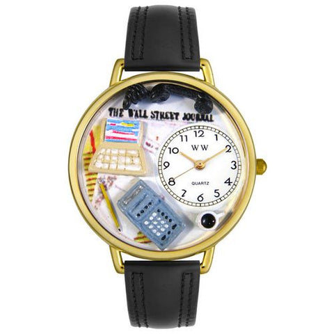 Accountant Watch in Gold (Large) - Whimsical Gifts - Dropship Direct Wholesale