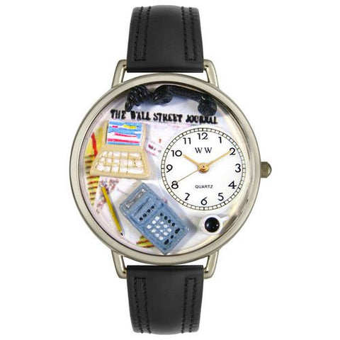 Accountant Watch in Silver (Large) - Whimsical Gifts - Dropship Direct Wholesale