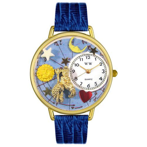 Aquarius Watch in Gold (Large) - Whimsical Gifts - Dropship Direct Wholesale
