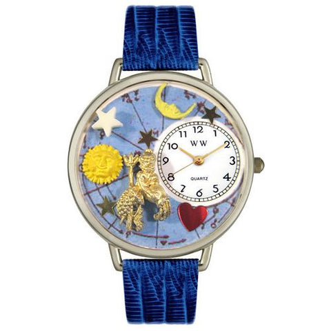 Aquarius Watch in Silver (Large) - Whimsical Gifts - Dropship Direct Wholesale