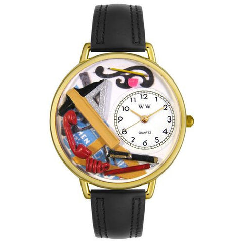 Architect Watch in Gold (Large) - Whimsical Gifts - Dropship Direct Wholesale