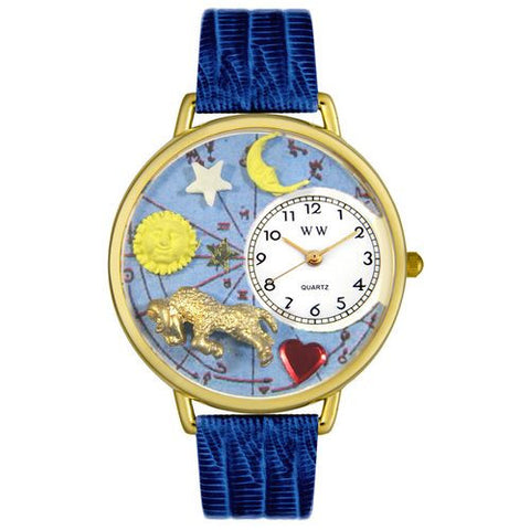 Aries Watch in Gold (Large) - Whimsical Gifts - Dropship Direct Wholesale