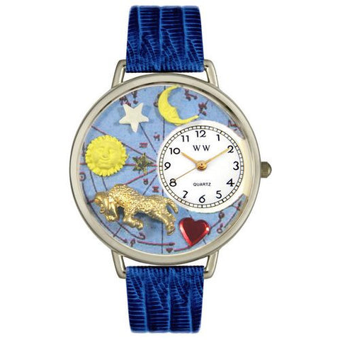 Aries Watch in Silver (Large) - Whimsical Gifts - Dropship Direct Wholesale