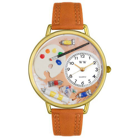 Artist Watch in Gold (Large) - Whimsical Gifts - Dropship Direct Wholesale