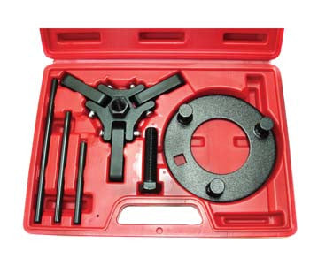Late Model Harmonic Dampener Puller and Holding Tool Set - ATD Tools - Dropship Direct Wholesale