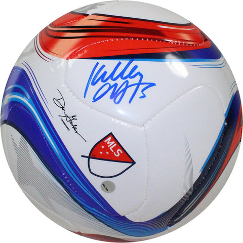 Kelley OHara Signed Adidas Conext15 Competition MLS Logo Soccer Ball
