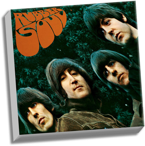 The Beatles Rubber Soul 20x20 Stretched Canvas