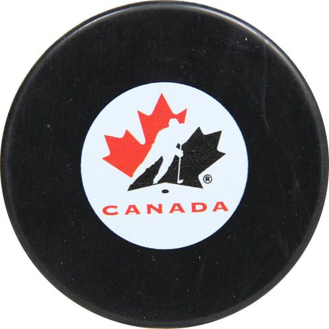 Team Canada official autograph puck