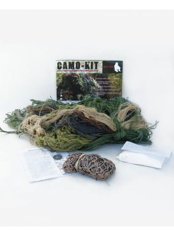 Camo Kit Woodland Ultralight - BushRag - Dropship Direct Wholesale