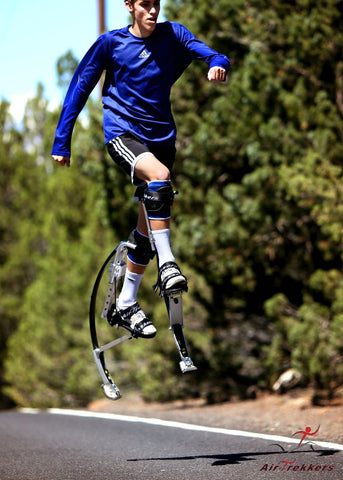 Air-Trekker Jumping Stilts BW-EXTREME - Small 120-160 lbs - Air-Trekkers - Dropship Direct Wholesale - 2