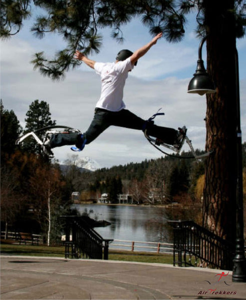 Air-Trekker Jumping Stilts BW-EXTREME - Small 120-160 lbs - Air-Trekkers - Dropship Direct Wholesale - 5