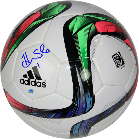 Hope Solo Signed 2015 Fifa World Cup Soccer Ball