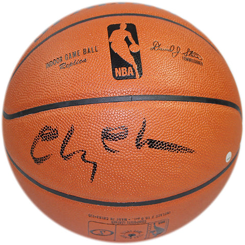Chevy Chase Signed NBA Z I/O Basketball