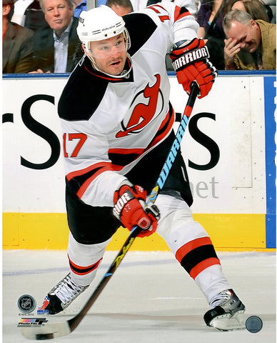 Ilya Kovalchuk New Jersey Devils White Jersey Slap Shot 16x20 Photo uns Gettynbr 97840761- PF