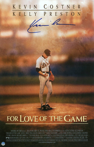 Kevin Costner Signed For the Love of the Game 11x17 Movie Poster