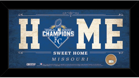 Kansas City Royals 2015 World Series Champions 10x20 Home Sweet Home Sign