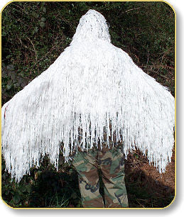 Ghillie Poncho Winter White - GhillieSuits - Dropship Direct Wholesale