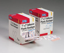 First Aid Only : 1 in. x3 in. Plastic bandage- 500 per dispenser box - First Aid - Wholesale Dropship Fulfillment
