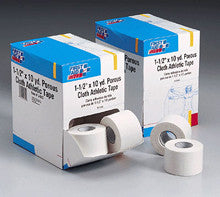 First Aid Only : 1-1/2 in. x10 yd. Porous cloth athletic tape roll- 16 per dispenser box - First Aid - Wholesale Dropship Fulfillment
