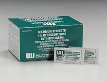 Hydrocortisone cream- 1.0%- .9 gm foil pack- 144 per box - First Aid Only - Dropship Direct Wholesale