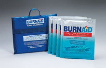 Burnaid® burn blanket kit- 4- 16 in. x22 in. burn dressings (equivalent to 5x7 blanket) in nylon- refilla - First Aid Only - Dropship Direct Wholesale