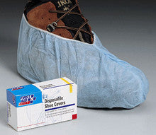 Disposable shoe covers- 100 per box - First Aid Only - Dropship Direct Wholesale