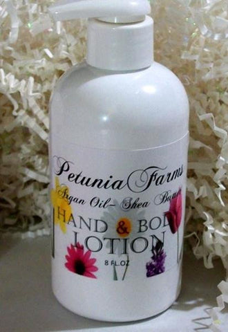 Baby Powder 8oz Hand and Body Lotion - Petunia Farms - Dropship Direct Wholesale
