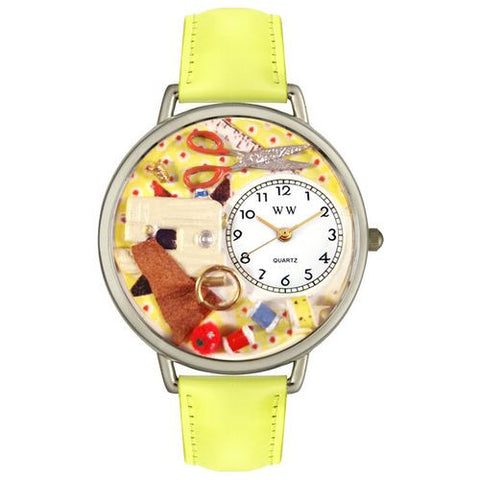 Sewing Watch in Silver (Large) - Whimsical Gifts - Dropship Direct Wholesale