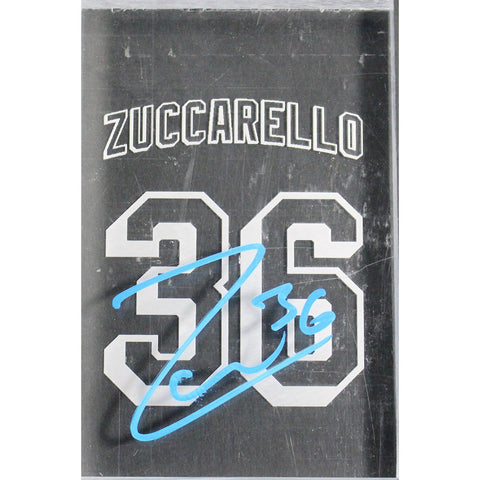 Mats Zuccarello Signed 4x6 MSG Gamed Used Plexiglas From w/ Etched Name Number