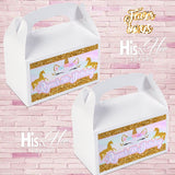 Custom Favor Boxes * ANY THEME*