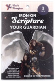 Iron-on Scripture, Angel of God Prayer