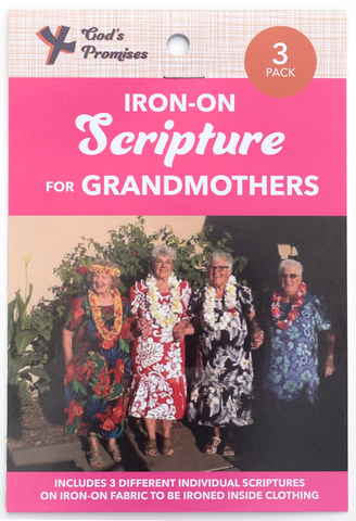 Iron-on Scripture for Grandmothers