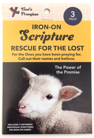 Iron-on Scripture, Rescue for the Lost