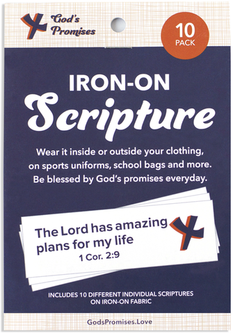 Iron-on Scripture