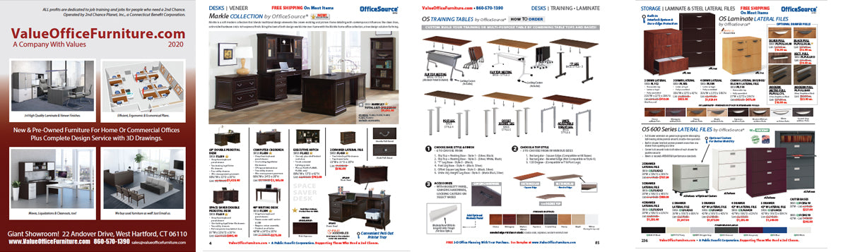 NEW Office Furniture 2020 DISCOUNT Catalog