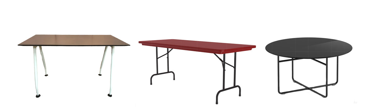 Tables and Tabletops