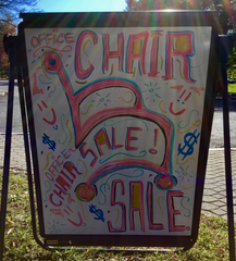 Chair Sale Going On Now!