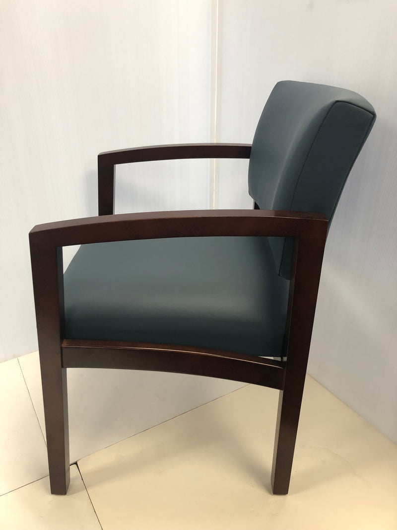 Lesro Wood High End Office Guest/Side Chair