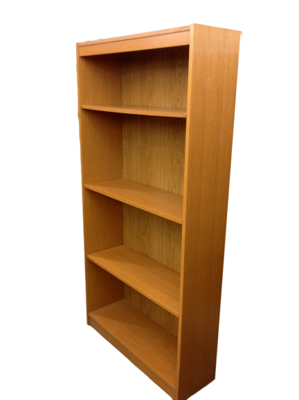 Oak Laminate Bookcase