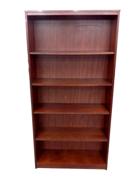 National Laminate Mahogany Bookcase