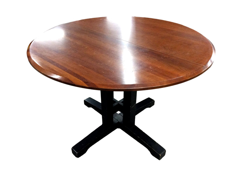 "Light Mahogany Round Table 47""R"