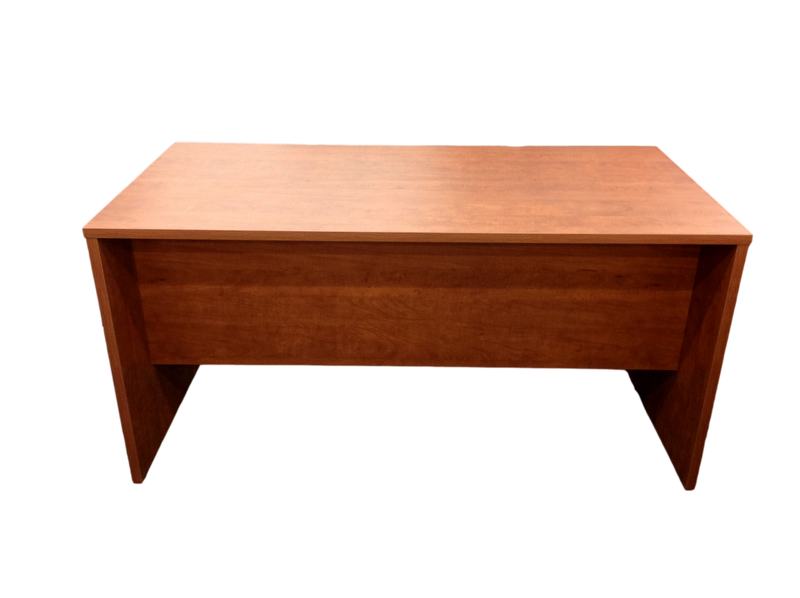 Candex Rum Cherry Two Pedestal File Desk