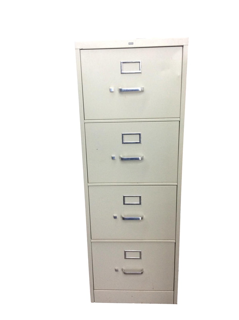 Hon 310 Series 4 Drawer Vertical in Putty