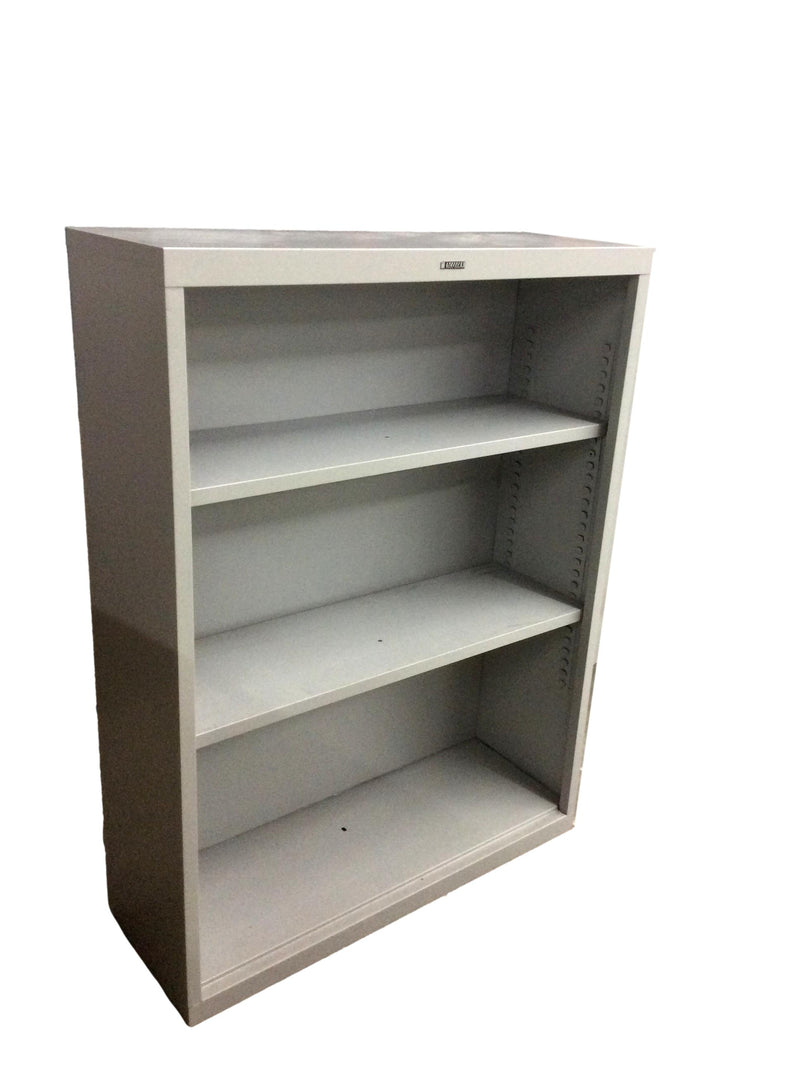 "Anderson Hickey Gray Bookcase 2 Adjustable Shelves - 36""W x  13""D x 48""H."